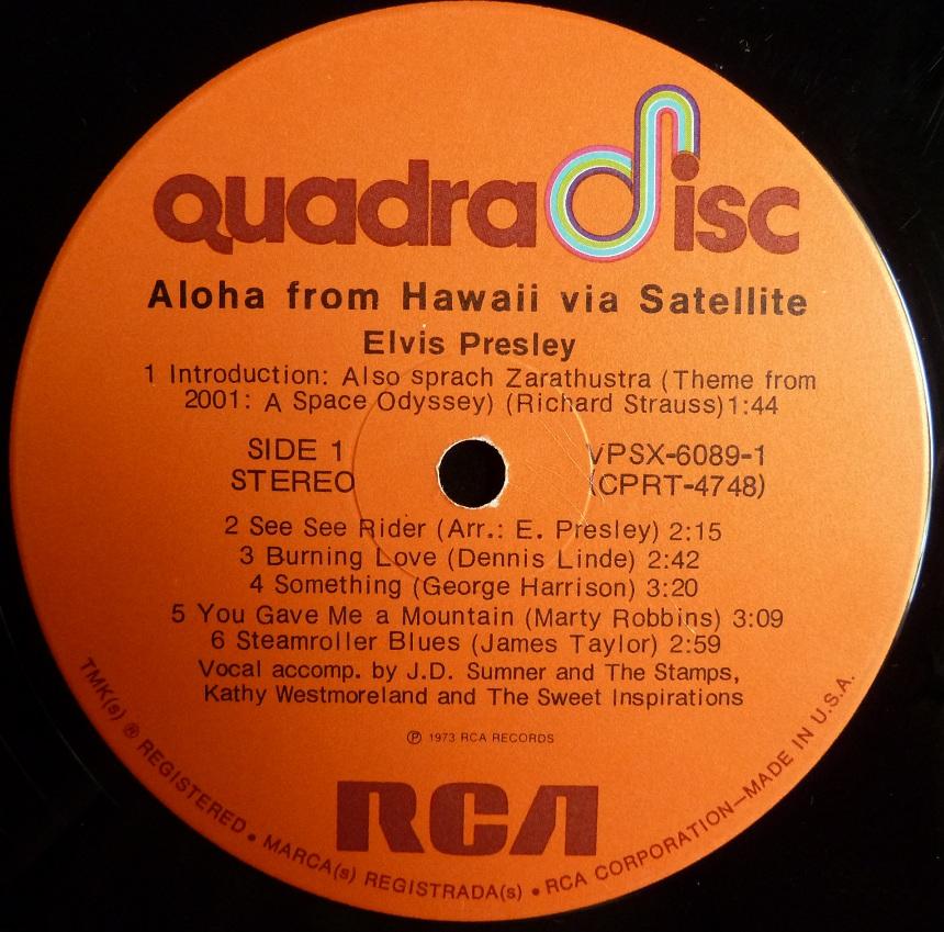 Hawaii - ALOHA FROM HAWAII VIA SATELLITE  Afh73usalabelside1w0iok