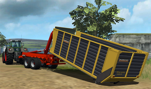 AGCO Silagecontainer