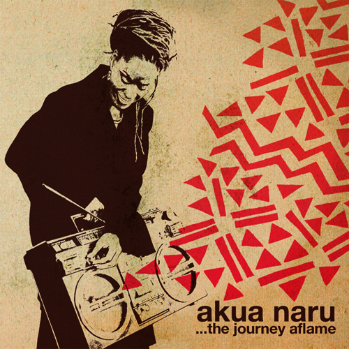 Cover: Akua Naru - The Journey Aflame-2011-hbZ