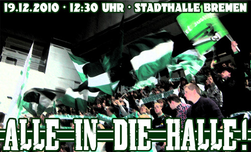 Alle in die Halle!