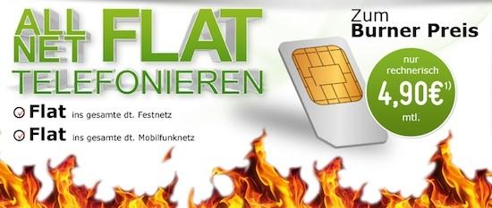 Allnet Flat 4,90 Euro