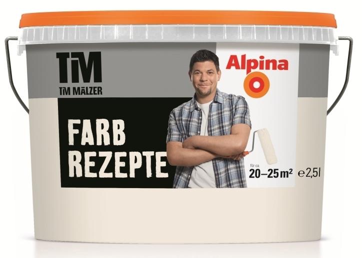 Alpina Wandfarbe TIM Mu00e4lzer Farbrezepte Erste Sahne 2 5 L ...