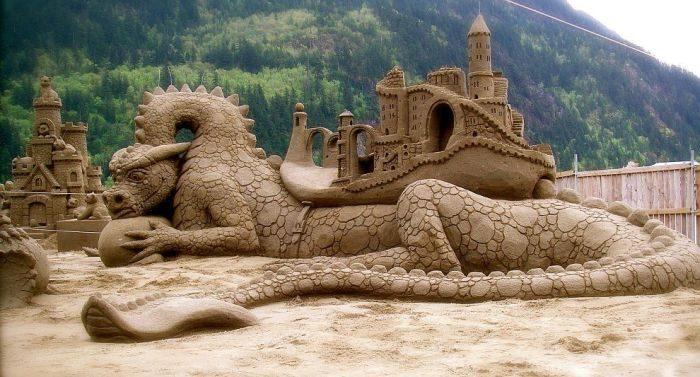 Rzeźby z piasku #4 2