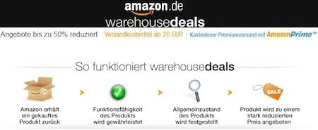 Amazon WarehouseDeals 10% Rabatt