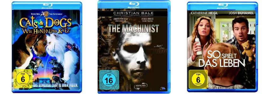 amazon: 2 Blu-rays für 15€ inkl. Versand! - The Machinist, 11:14, Rush Hour, Mars Attack's uvm!
