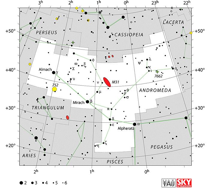 Sazveždja Andromeda18up3