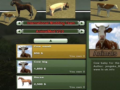 Animal Mod V 2.0