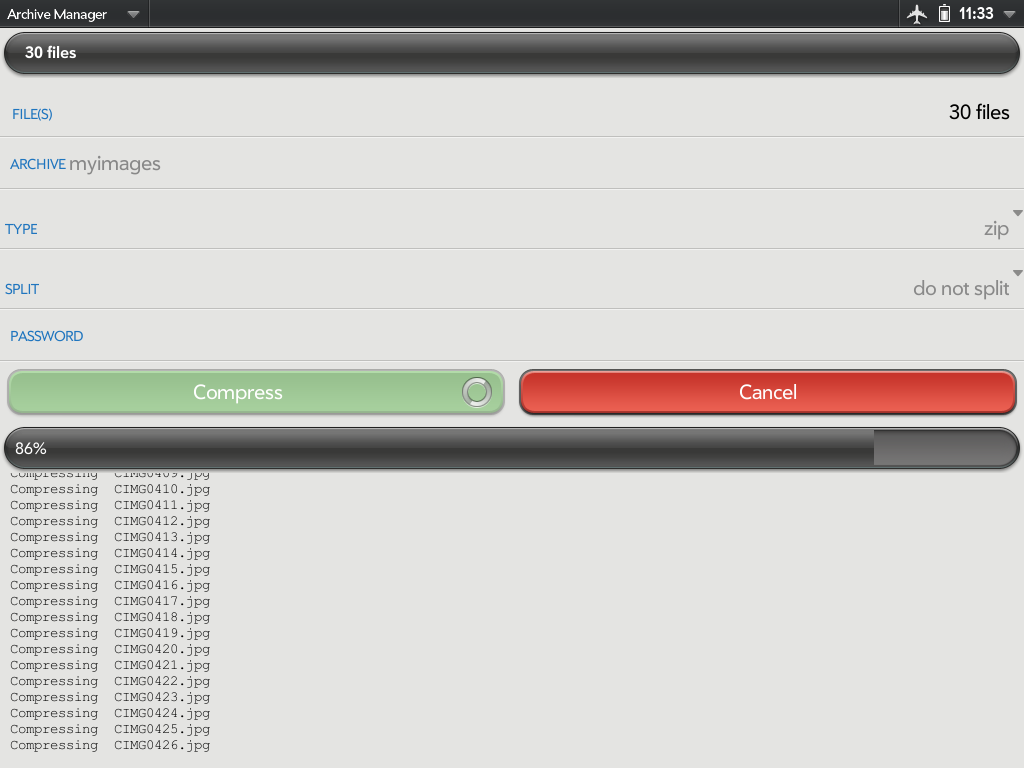 Archive Manager Screenshot 0