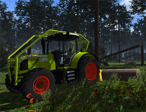 CLAAS Arion 520 (foresty)