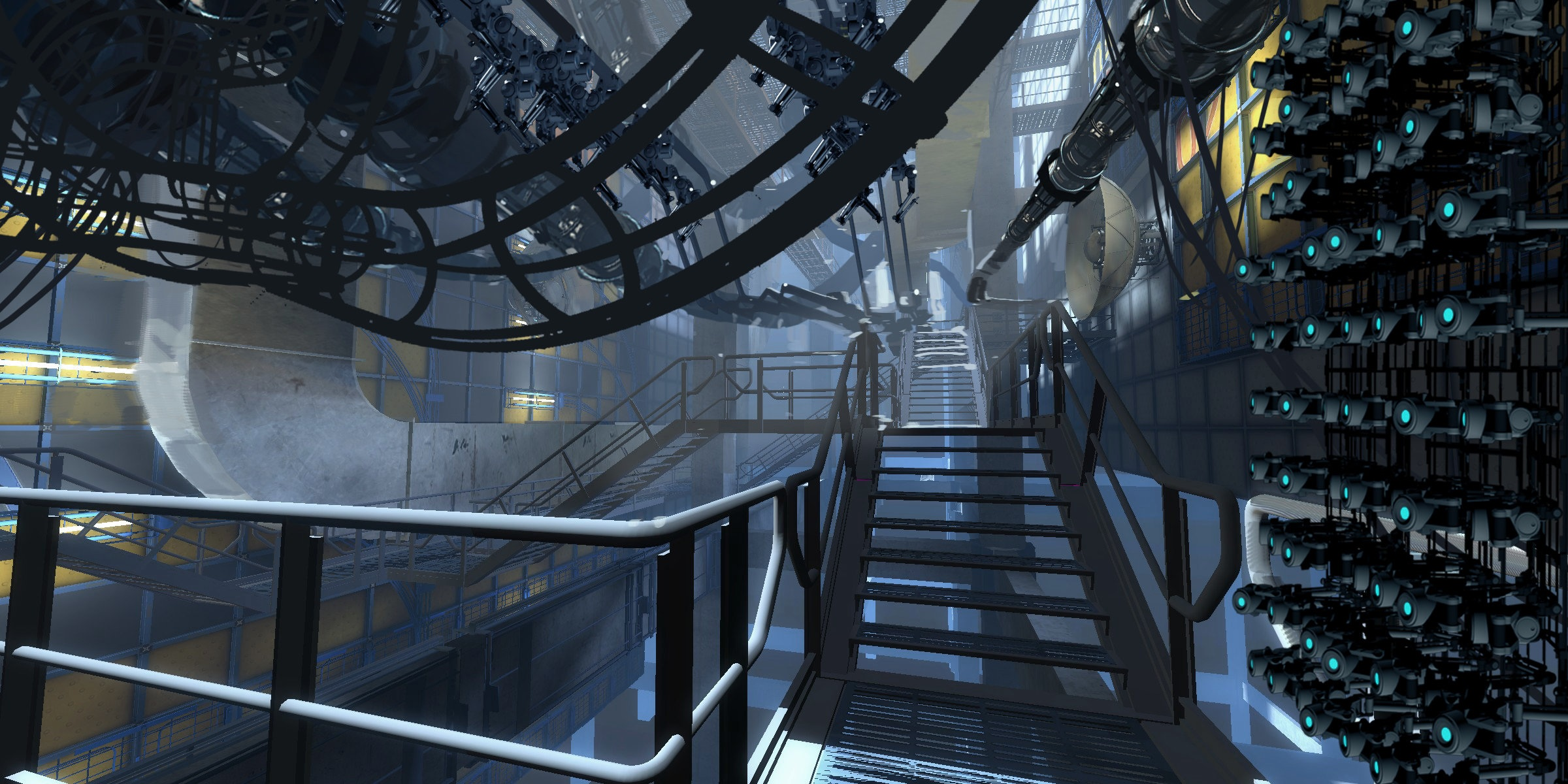 Cool portal 2 concept art for Half life 2 architecture