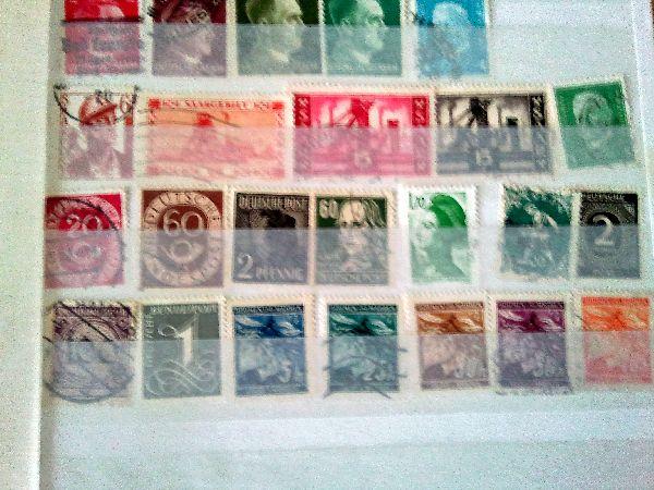 Wertbestimmung von meiner briefmarken Atds-0015ng9
