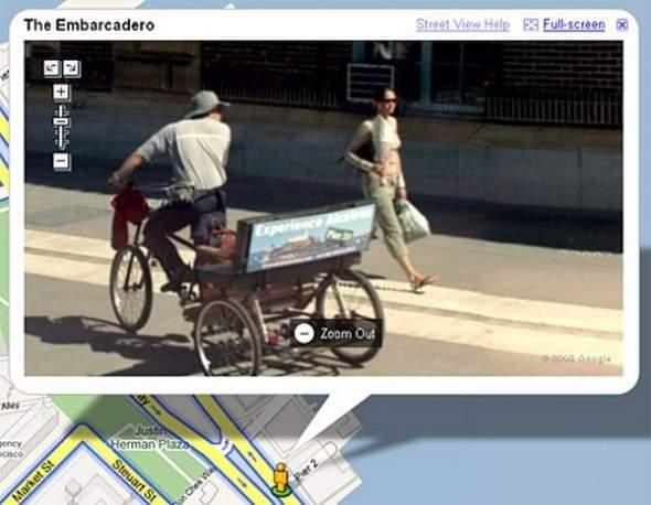 Najdziwniejsze zdjęcia z google Street View 9
