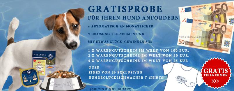 Dinner for Dogs: Gratisprobe Hundefutter + Gewinnspiel