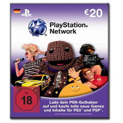 Conrad: 40€ PlayStation Network Card für nur 29€ dank Gutscheinkombination!! - 7,50€ + 3,50€ Gutschein!