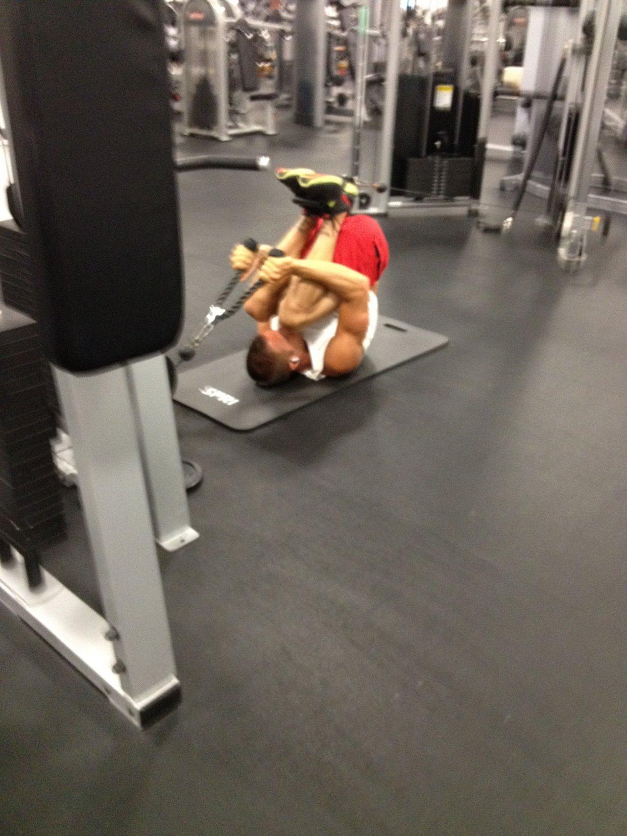 Na siłowni 38