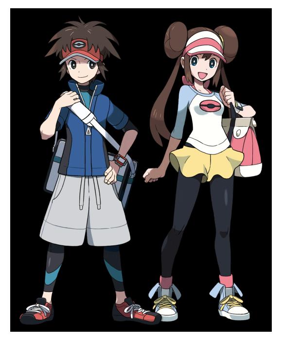Das neue Pokémon Spiel Schwarz 2 / Weiss 2 - Black 2 / White 2 B2w2_protagonisten6yjj5