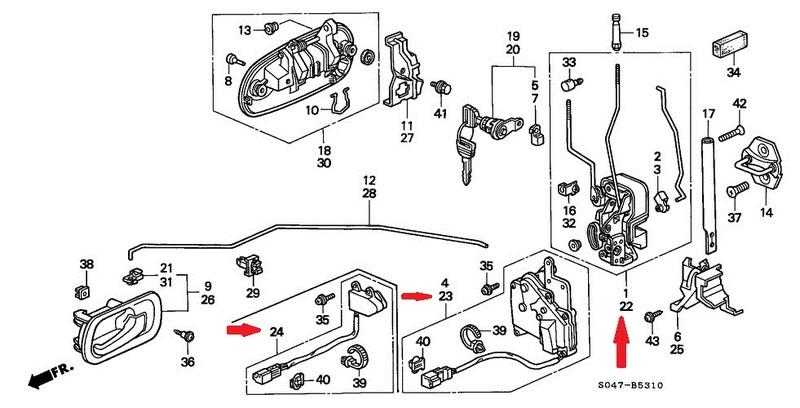 Atemberaubend Schaltplan Honda Civic Zeitgenössisch - Der Schaltplan ...