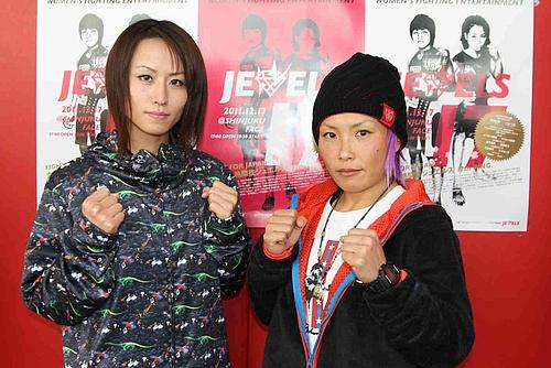 """Mika """"Future Princess"""" Nagano (l.) und """"V.V"""" Mei Yamaguchi (r.) (Foto via kakutoh-blog.com)"""