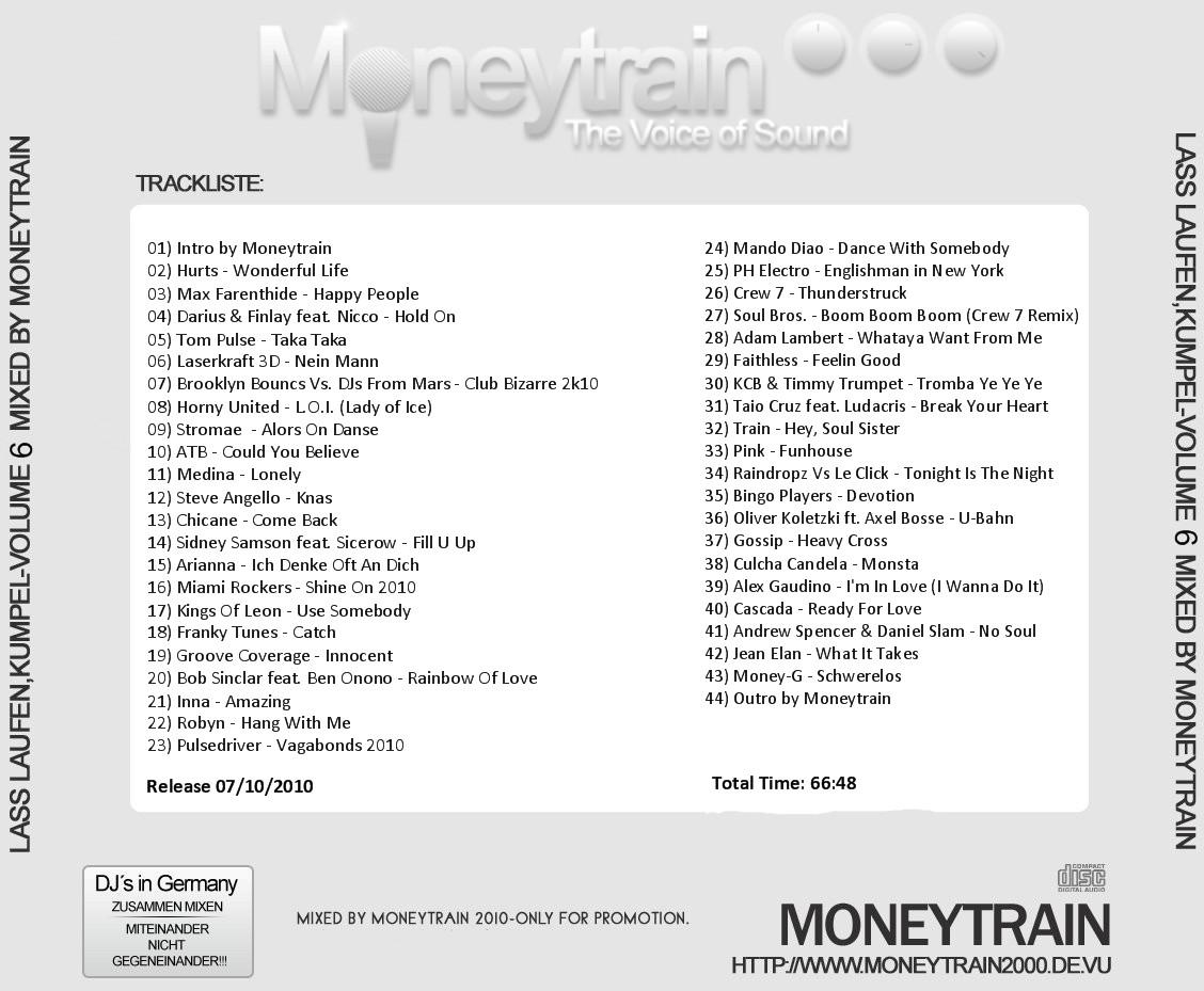 Moneytrain - Lass Laufen Kumpel Vol. 6
