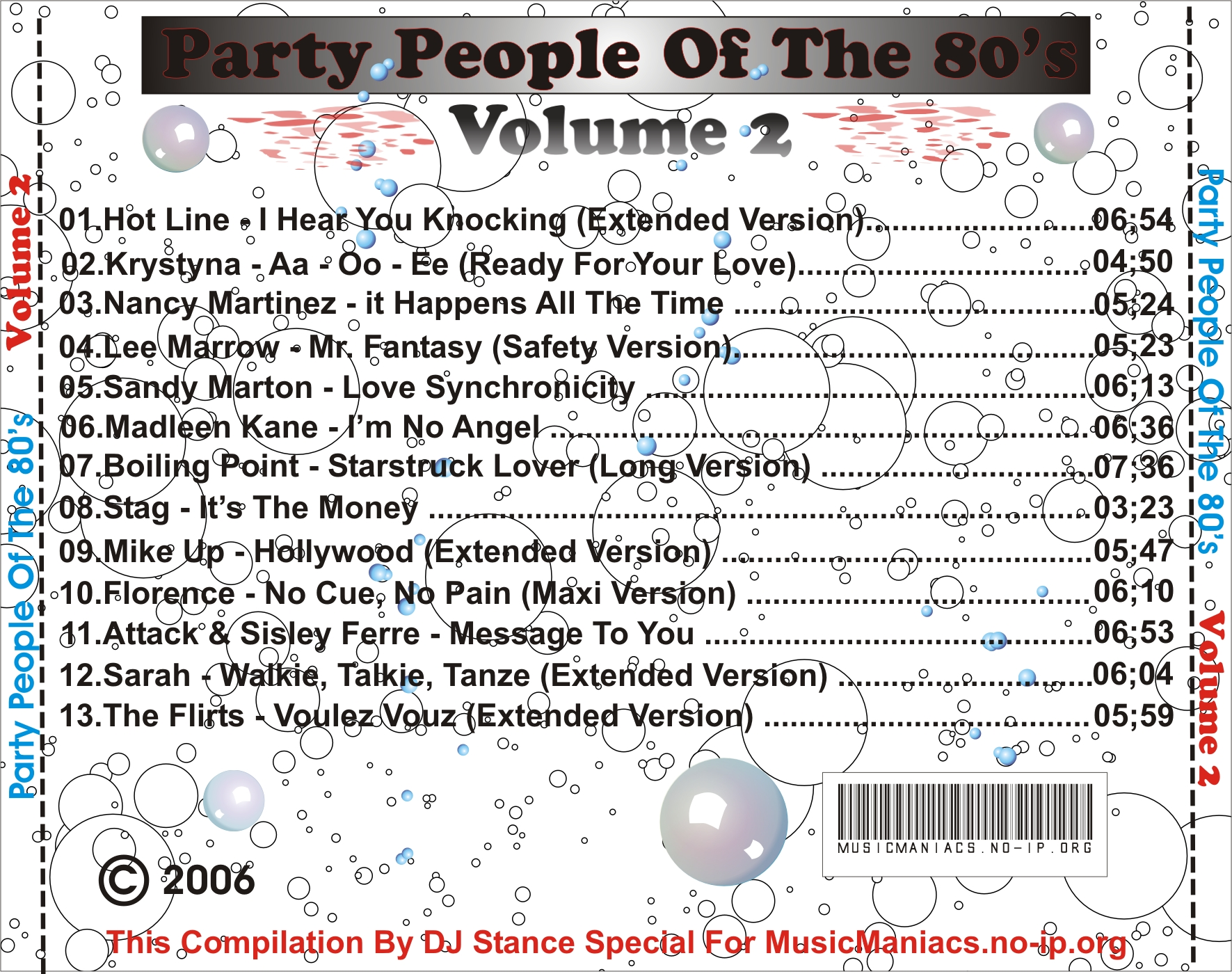 Party People Of The 80's Vol.02