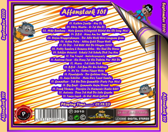 Affenstark 161 - September 2010