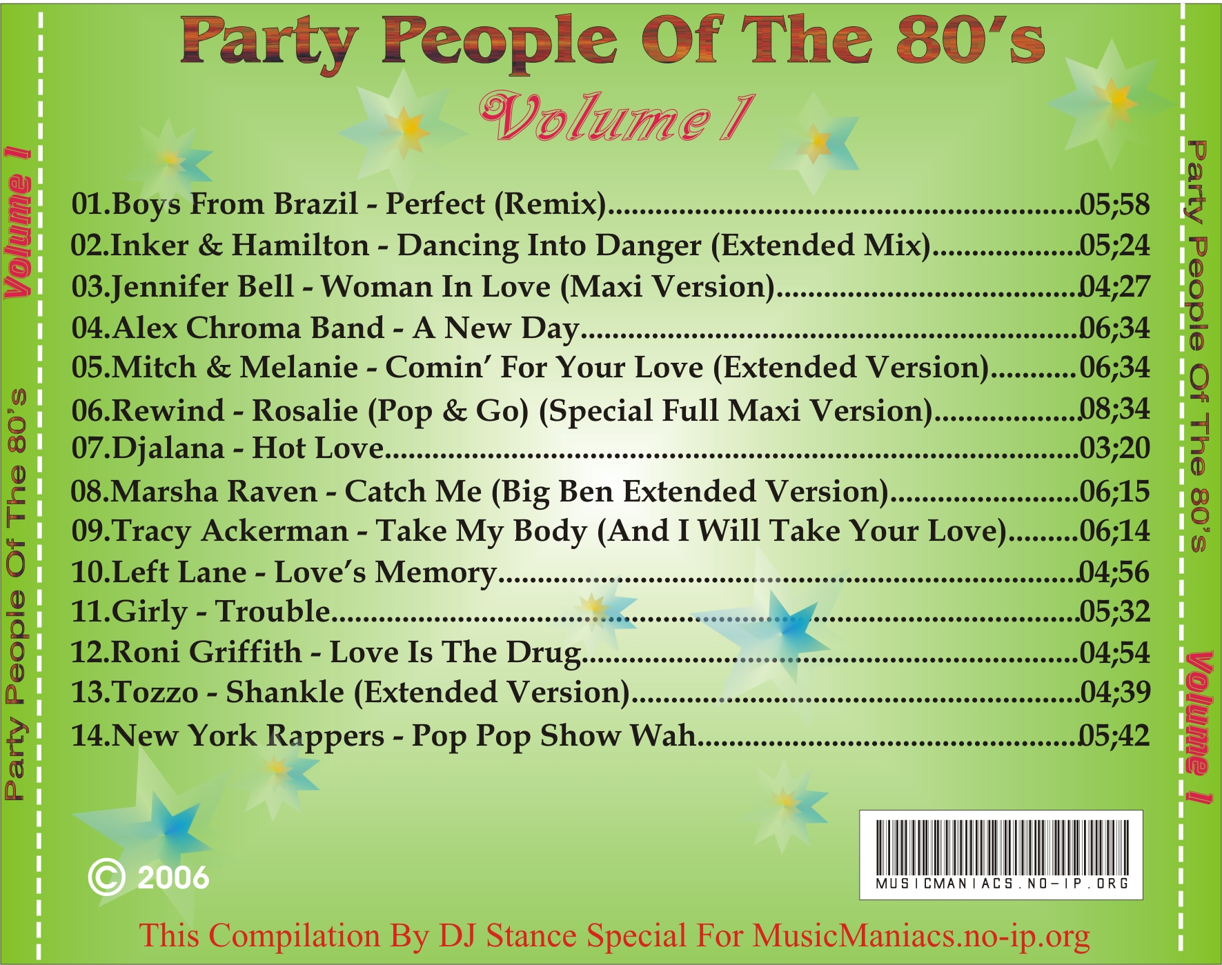 Party People Of The 80's Vol.01