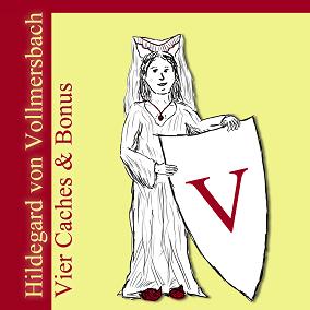 Hildegard von Vollmersbach - Badge