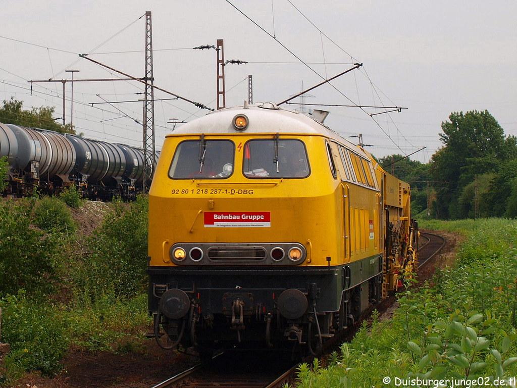 Eisenbahn im Ruhrgebiet - DB Bahnbau Gruppe