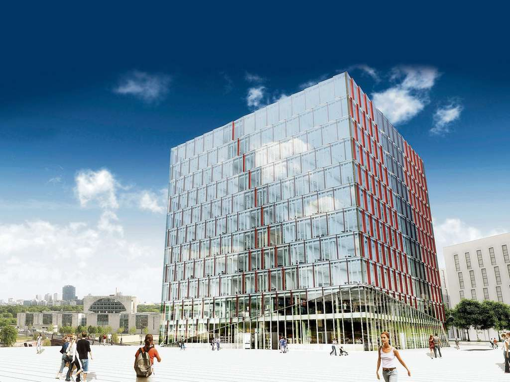 Cubus Berlin berlin kubus cube in bau skyscrapercity