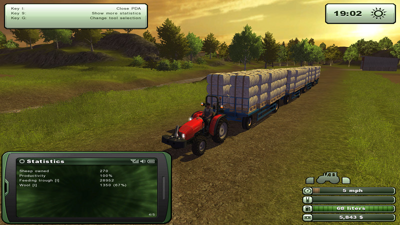 LS 2013 Bale Trailer MS-8 medium