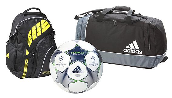 adidas fu ball finale rucksack f50 oder tasche gr l zusammen nur 24 99 euro inkl. Black Bedroom Furniture Sets. Home Design Ideas