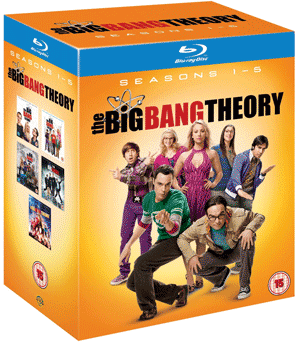 amazon.co.uk: The Big Bang Theory - Complete Seasons 1-5 [Blu-ray] für ca. 45€