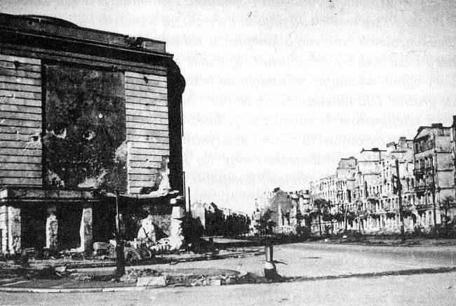 Wrocław  1945 Zniszczenia 80