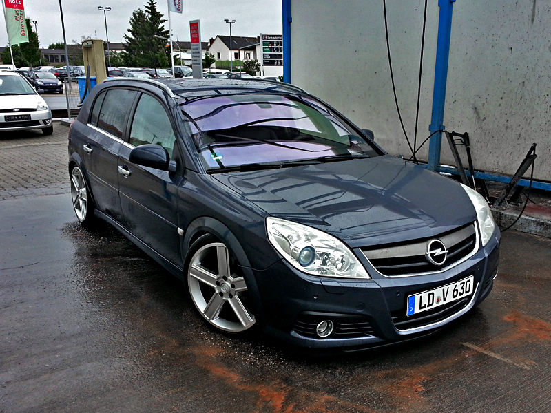 opel signum grill