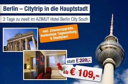 Berlin Azimut Hotel