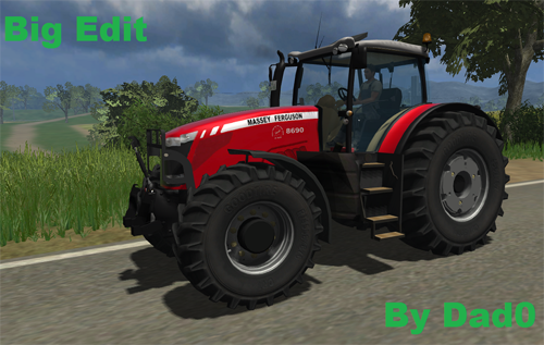Massey Ferguson 8690 v2 (Big Edit)