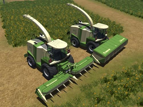 Landwirtschafts Simulator 2009: News, Mods und mehr - Selbstfahrer