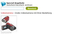 Gratis-Videokamera