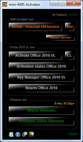 the activator is based on zwt kms keygen kms emulator
