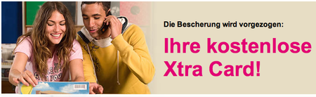 T-Mobile Xtra-Card gratis abstauben