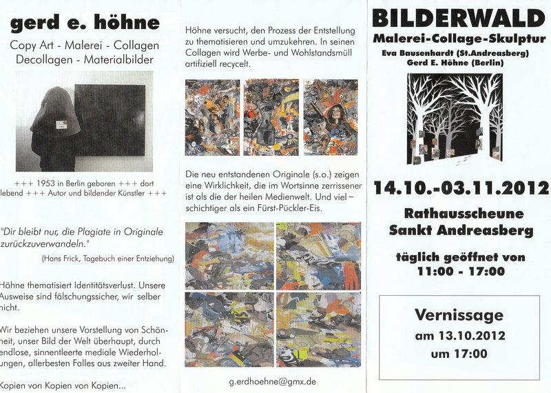 Bilderwald...Ausstellung einheimischer Künstler Bilderwald6okwq