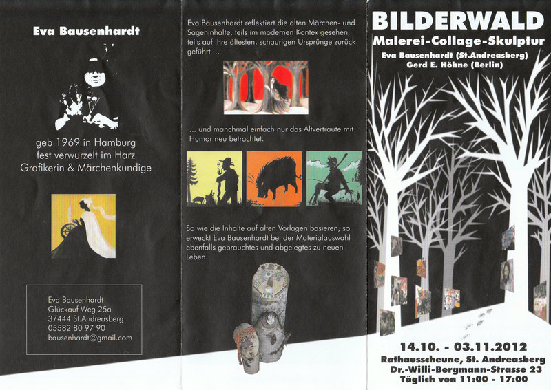 Bilderwald...Ausstellung einheimischer Künstler Bilderwaldfdkpa