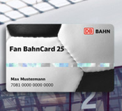 Fan Bahncard 25