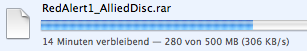 Downloadgeschwindigkeit