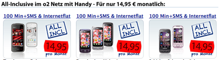Handys 14,95 Euro