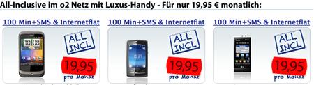 Handys 19,95 Euro