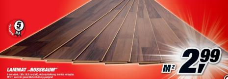 tipp toom laminat in nu baumoptik nur 2 99 euro pro quadratmeter. Black Bedroom Furniture Sets. Home Design Ideas