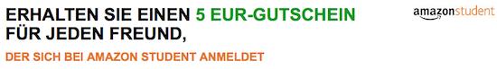 Amazon Gutschein - 5,00 Euro für jeden Freund