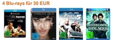 4 Blu-rays