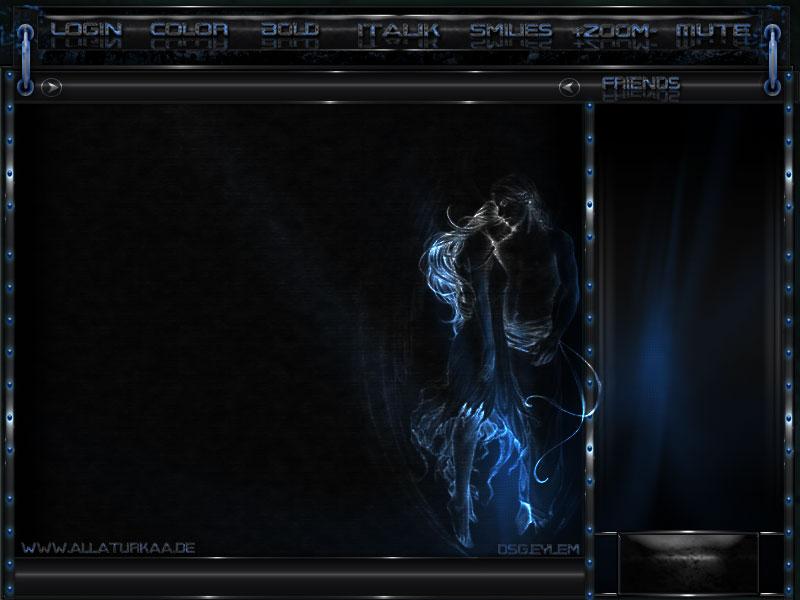 Blue Black - By Melye